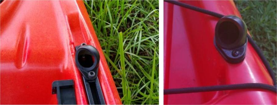 adventure canopy bimini kayak hub track mounted (Custom)