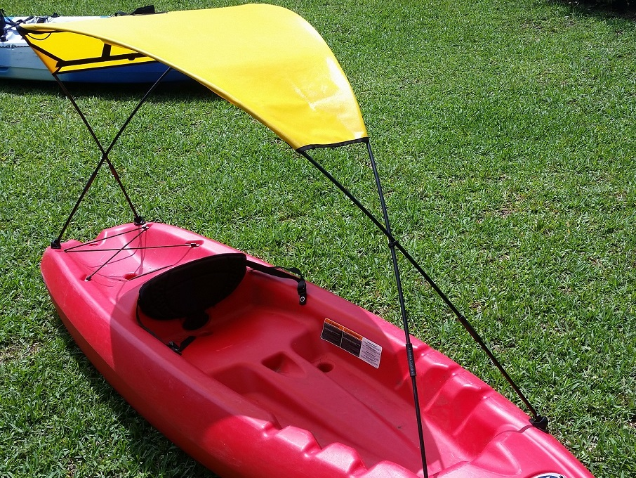 Kayak sun shade